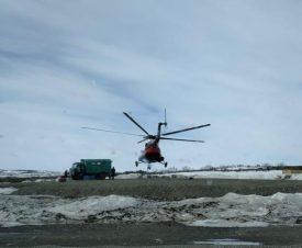 Вертолет с красной икрой дал деру от полицейских