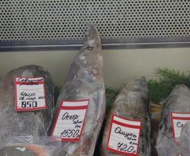 На рынке в Барнауле торговали браконьерскими осетрами