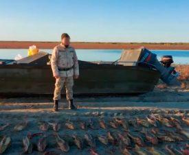 На Каспии казахстанские браконьеры нарыбачили на 235 тыс. долларов