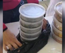 В Красноярске из незаконной торговли изъяли икру и осетрину