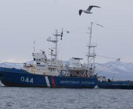 В лодке браконьера дагестанские пограничники нашли 230 кг осетров