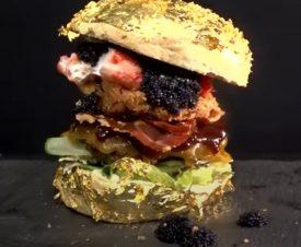 В меню голландской закусочной появился самый дорогой в мире бургер за 5000 евро